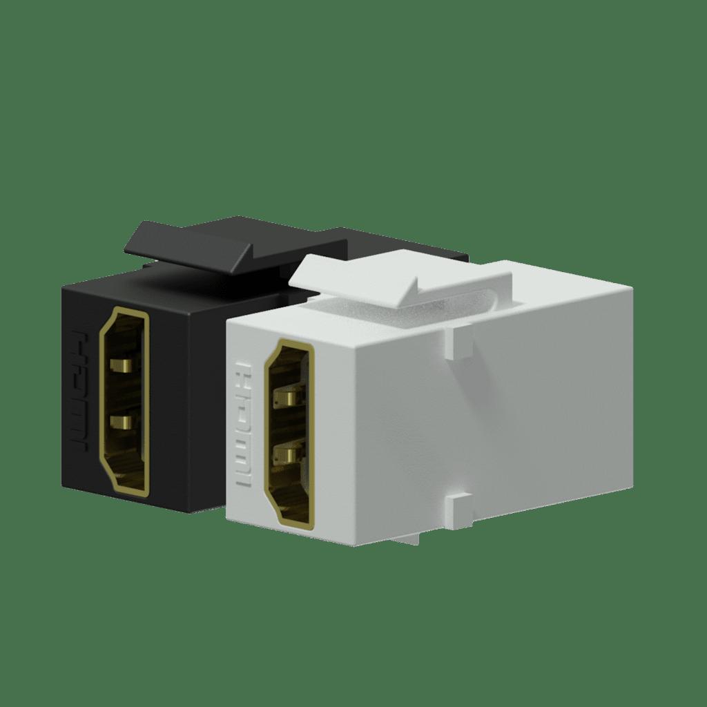 Keystone adapter - HDMI A female - HDMI A female