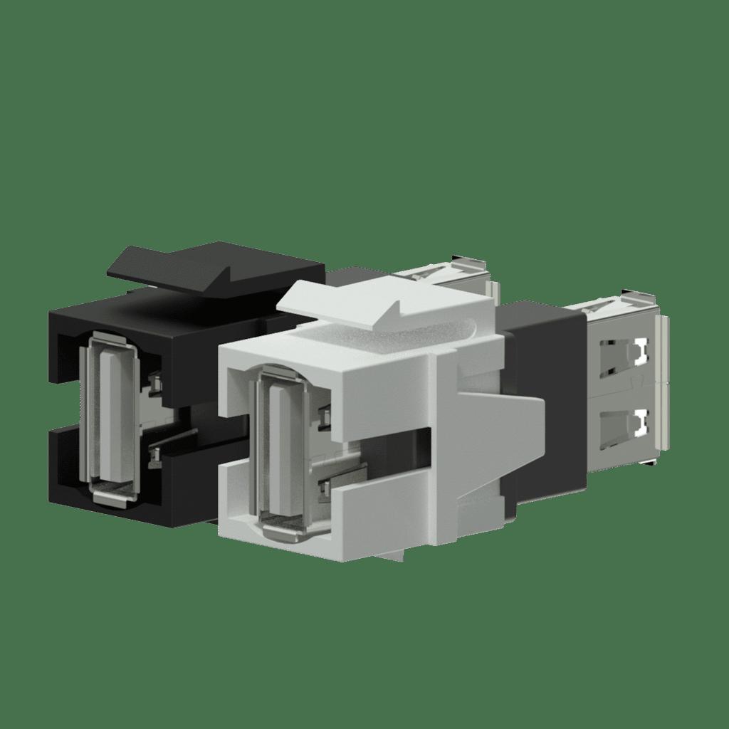 Keystone adapter - USB 2.0 A - USB 2.0 A