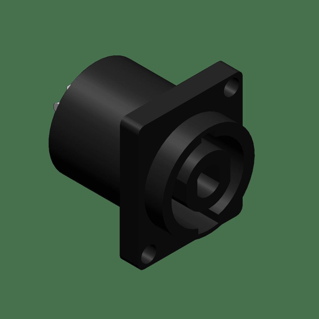 Speaker Connector 4-pins Malepanel