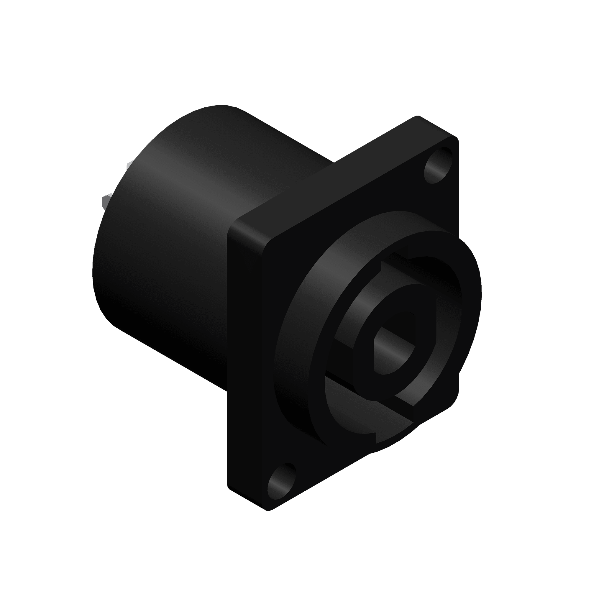 VCL4MP - Panel connector - 4-pin speaker male