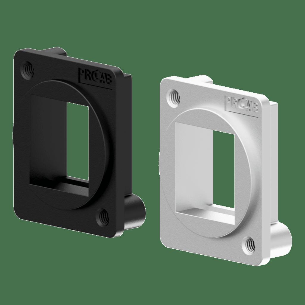 D-size keystone adapter