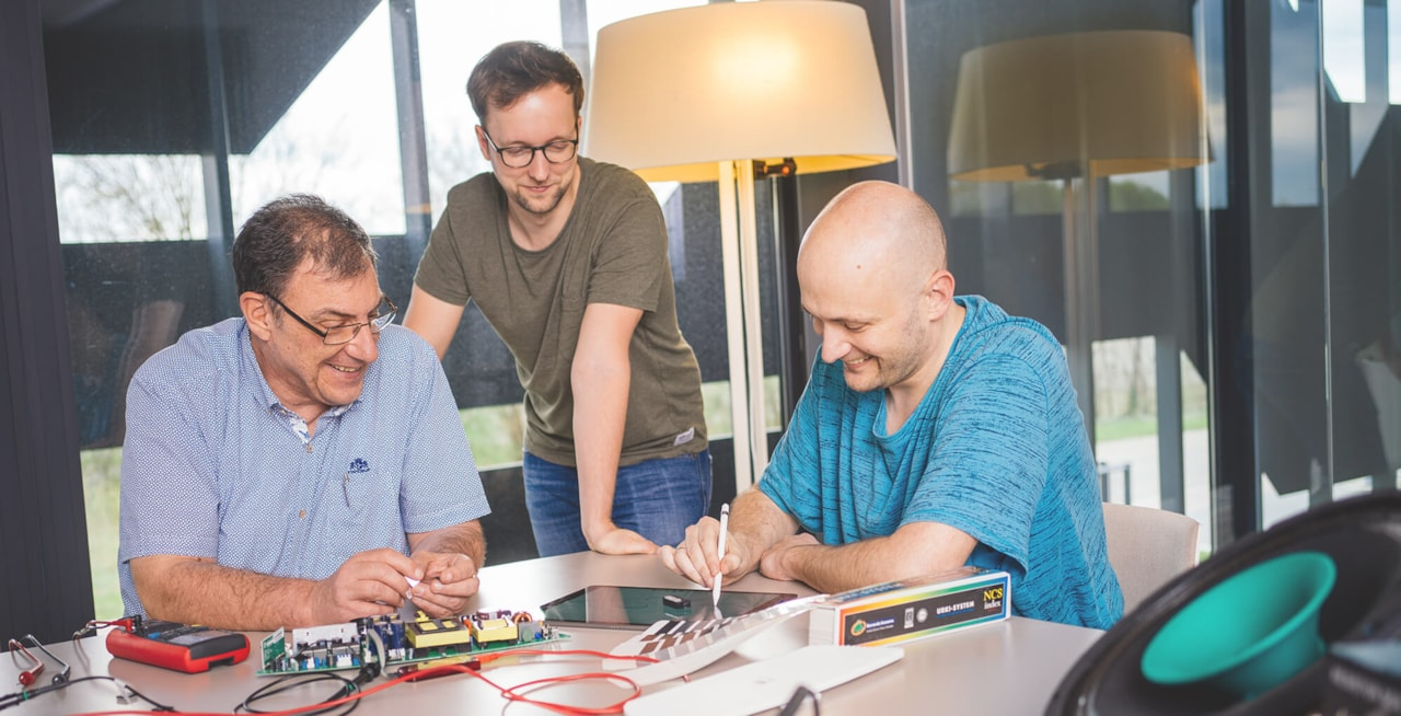Teamwork leads to innovative ideas