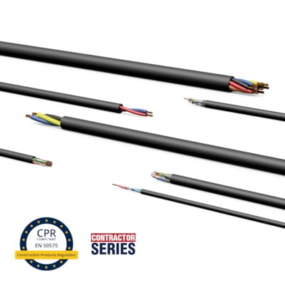 Construction Products Regulation compliant cables