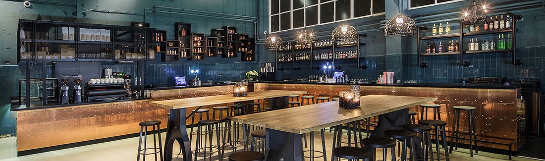 Bars and restaurants references by PVS