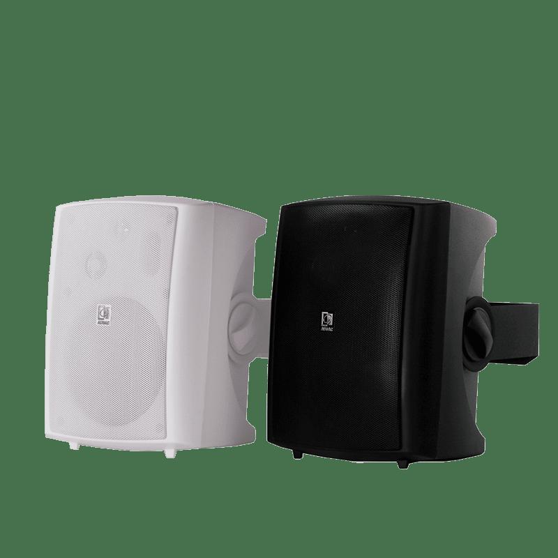 Active wall loudspreaker