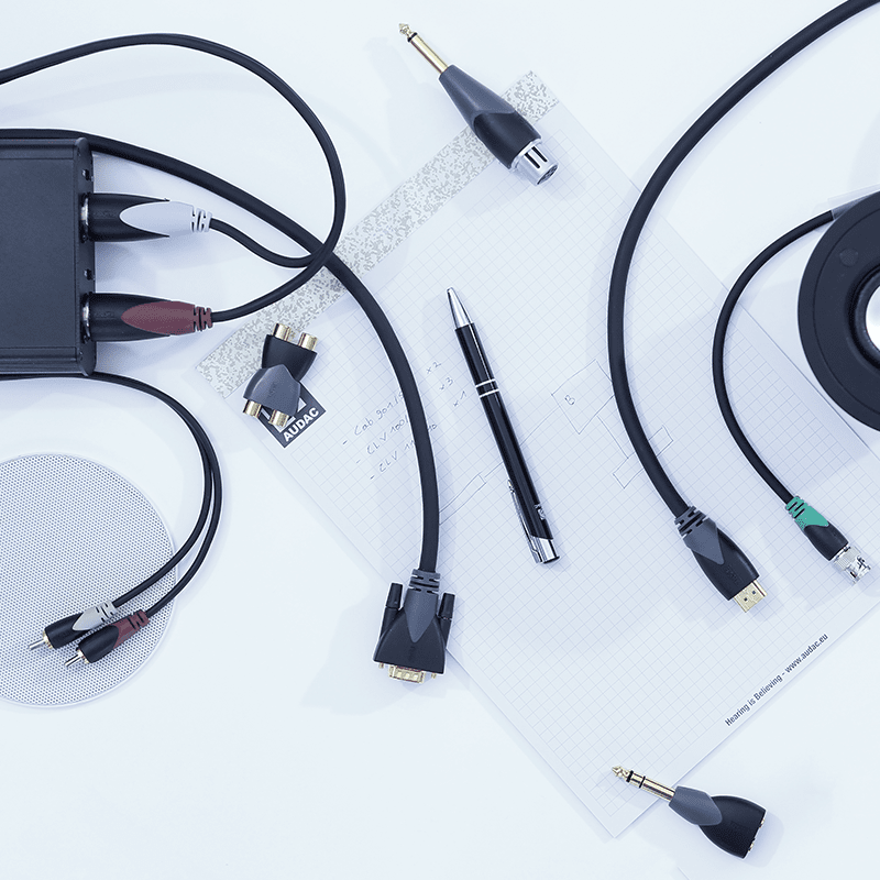 Cables and Connectors -