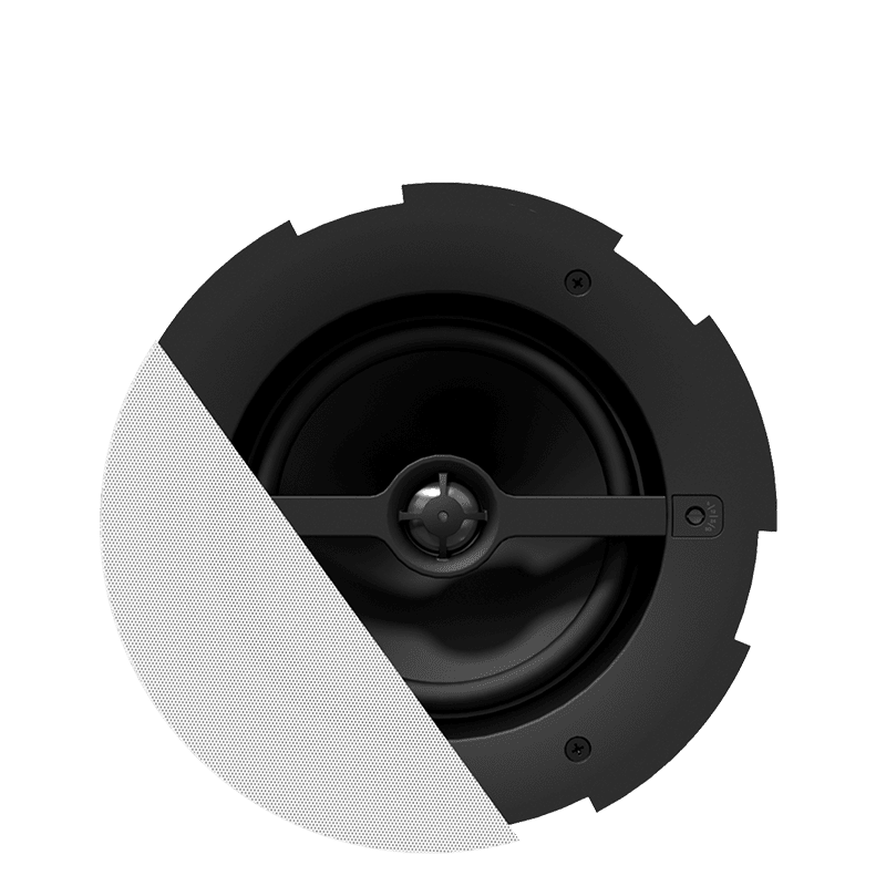 Ceiling loudspeakers with enclosure