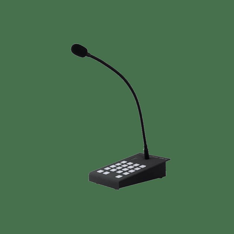 Digital paging microphones