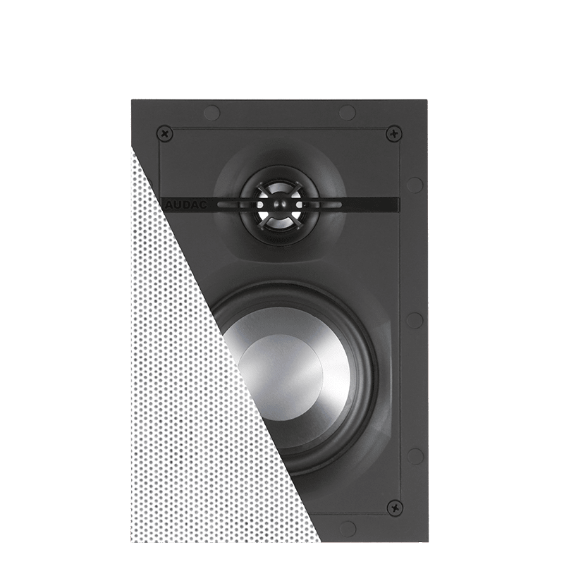 High-end rectangular loudspeakers