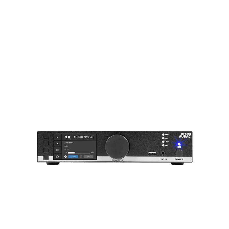 Commercial all-in-one amplifier